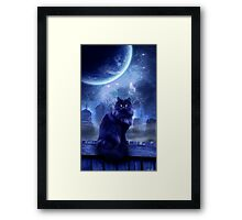 The Witches Familiar Framed Print