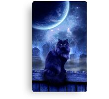 The Witches Familiar Canvas Print
