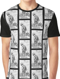 Strength Tarot Card - Major Arcana - fortune telling - occult Graphic T-Shirt