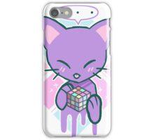 Puzzle Cat iPhone Case/Skin
