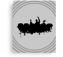 MST3K - Splatter Canvas Print