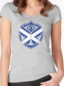 Tomorrowland scotland logo - scottish - na h-Alba  Women's Fitted Scoop T-Shirt