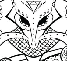 Alakazam de los Muertos   Pokemon & Day of The Dead Mashup Sticker