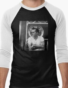Brian Fallon Black & White Men's Baseball ¾ T-Shirt