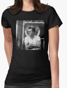 Brian Fallon Black & White Womens Fitted T-Shirt