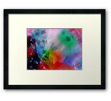 Lighter Colours Framed Print