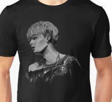 Min Yoongi Grey-scale sketch Unisex T-Shirt