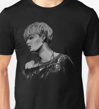 Min Yoongi Grey-scale sketch Unisex T-Shirt