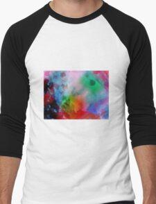 Lighter Colours Men's Baseball ¾ T-Shirt