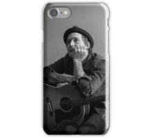 Brian Fallon Black & White 2 iPhone Case/Skin
