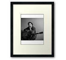 Brian Fallon Black & White 2 Framed Print