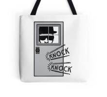 The One Who Knocks Tote Bag