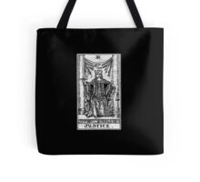 Justice Tarot Card - Major Arcana - Fortune Telling - Occult Tote Bag