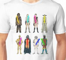 Naughty Lightsabers Unisex T-Shirt