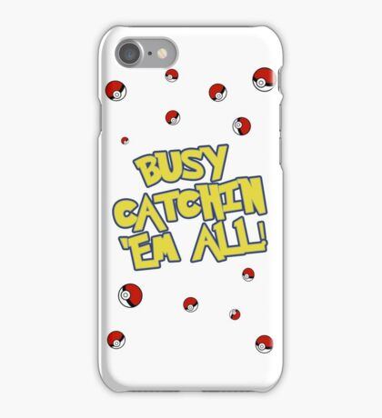 LIMITED EDITION - CATCH 'EM ALL CASE iPhone Case/Skin