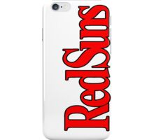 RedSuns collection iPhone Case/Skin