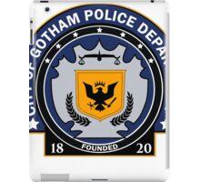 Gotham City Police Department iPad Case/Skin