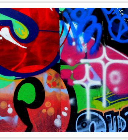 Graffiti. Sticker