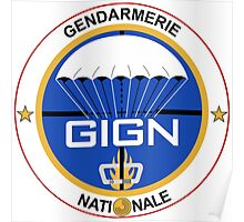 GIGN France Special Forces Poster