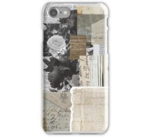 Shabby Chic Vintage Collage iPhone Case/Skin