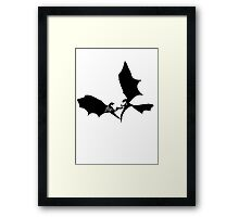 Fly Daenerys Targaryen's Dragon Framed Print