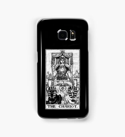 The Chariot Tarot Card - Major Arcana - fortune telling - occult Samsung Galaxy Case/Skin