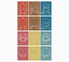 Tales of the Abyss Protags Kids Tee
