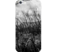 Burned forest iPhone Case/Skin