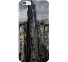 Empire State Building New York Cityscape East Coast America Contemporary Acrylic Painting iPhone Case/Skin