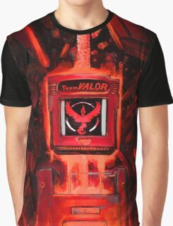 Pocket Power Go - Team Valor Graphic T-Shirt