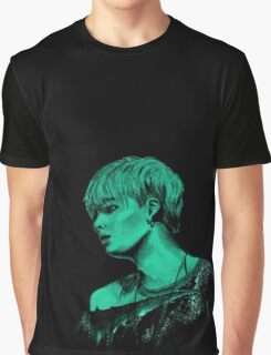 Min Yoongi mint sketch Graphic T-Shirt