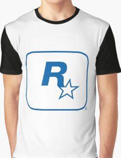 Rockstar Leeds Logo Graphic T-Shirt