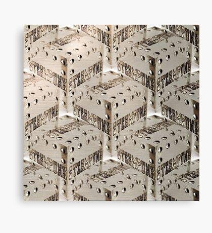 Steampunk Cube Canvas Print