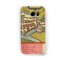 Limerick Vintage map.Geography Irland ,city view,building,political,Lithography,historical fashion,geo design,Cartography,Country,Science,history,urban Samsung Galaxy Case/Skin