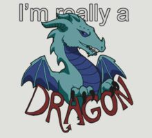I'm really a Blue Dragon by no1silver