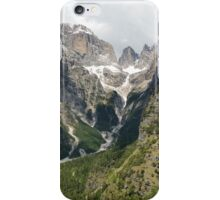 Mountains in natural park Adamello di Brenta in Italy iPhone Case/Skin