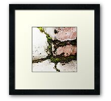 { Corners: where the walls meet #12 } Framed Print
