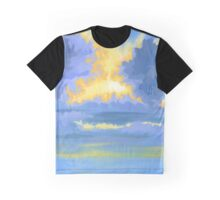 Winter Sundown Graphic T-Shirt