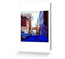 Lost In the City of San Francisco Greeting Card
