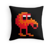 Qbert Throw Pillow