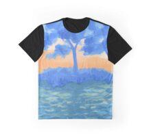 Peaceful Sunrise Graphic T-Shirt