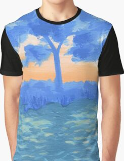 Peaceful Sunrise Graphic T-Shirt