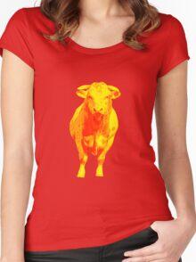 Bulle Pop Art Women's Fitted Scoop T-Shirt
