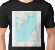 USGS TOPO Map Alaska AK Trinity Islands D-1 359981 1952 63360 Unisex T-Shirt