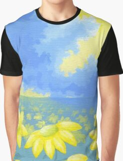 Fields of Sun Graphic T-Shirt
