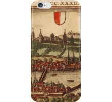 Luzern Vintage map.Geography Switzerland ,city view,building,political,Lithography,historical fashion,geo design,Cartography,Country,Science,history,urban iPhone Case/Skin