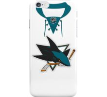 San Jose Sharks Away Jersey iPhone Case/Skin