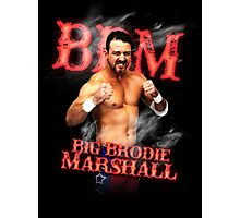 Branded Big Brodie Marshall 0 Photographic Print