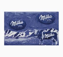 "Exclusive: "" Milka "" / My Creations Artistic Sculpture Relief fact Main 23  (c)(t) by Olao-Olavia / Okaio Créations Kids Tee"