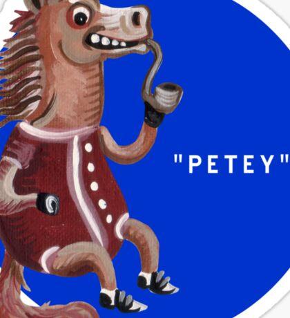Peppy Petey Pipehorse Sticker
